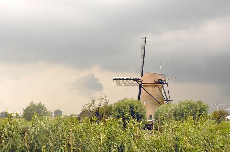 Kinderdijk_windmill
